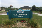 Clear Brook Park sign